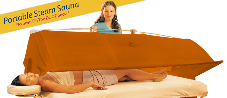 portable steam sauna, day spa, shirodhara, ayurveda, aromatherapy